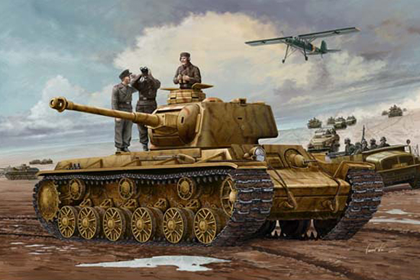 German Panzerkampfwagen, KV-1 756(r)