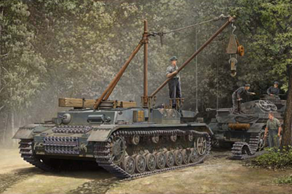 German Bergepanzer IV, Recovery Vehicle