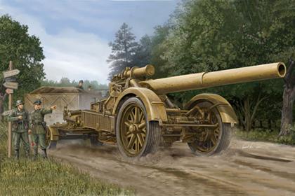 German German 21cm Mörser 18