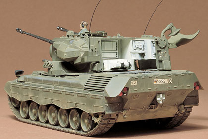 German Flakpanzer Gepard