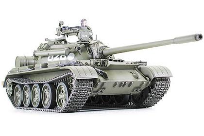Russian Medium Tank, T-55A