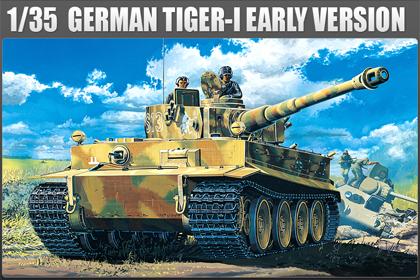 German Panzerkampfwagen VI, Tiger I – Early version