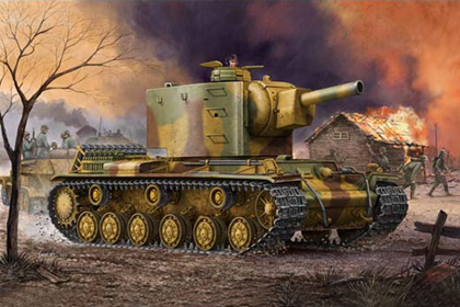 German Panzerkampfwagen, KV-2 754(r)