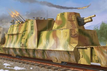 German Kanonen und Flakwagen