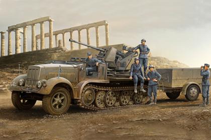 German 3.7cm FlaK 37 auf Selbstfahrlafette - Early version