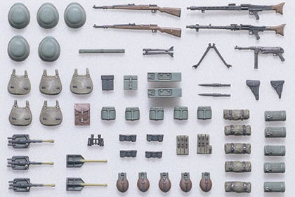 German Infantry Equipment set A - Early/Mid