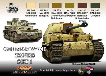 German Tanks set 1