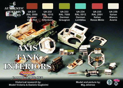 Axis Tank Interior set