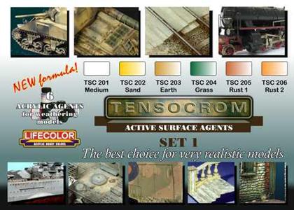 Tensocrom set 1