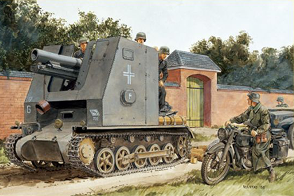 German 15cm s.IG.33 (Sf) auf Pz.Kpfw.I Ausf.B