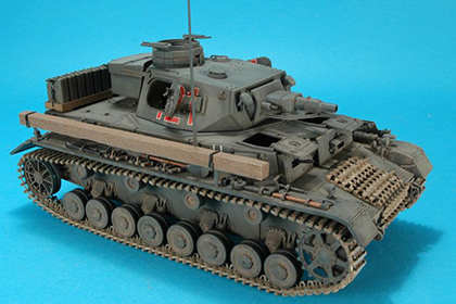 German Panzerkampfwagen IV, Ausf. E - Vorpanzer