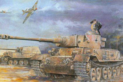 German Panzerkampfwagen VI (P)