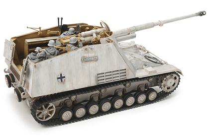 German Self-Propelled Heavy Anti-Tank Gun Nashorn