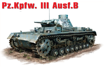 German Pz.Kpfw.III Ausf. B