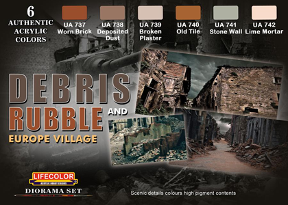 Debris and Rubble set
