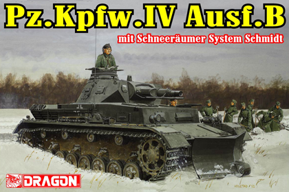 German Pz.Kpfw.IV Ausf.B, mit Schneeräumer System Schmidt