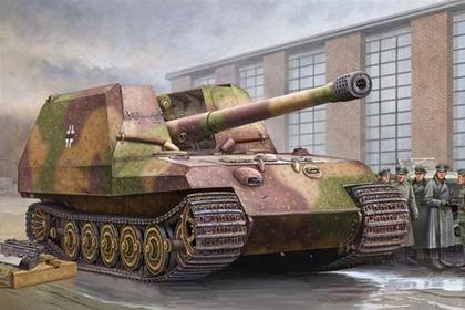 German Geschützwagen Tiger für 17cm