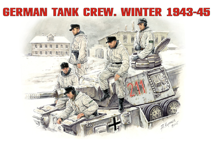 German Tank Crew - Winter 1943-1945