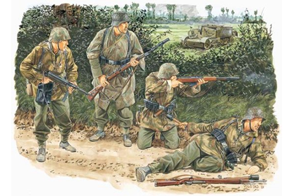 German Kampfgruppe von Luck - Normandy 1944