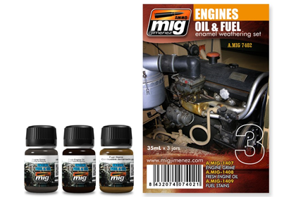 Engines, Oil & Fuel set