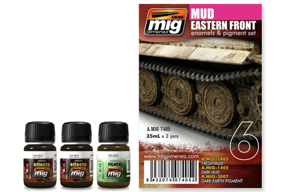 Eastern front mud set