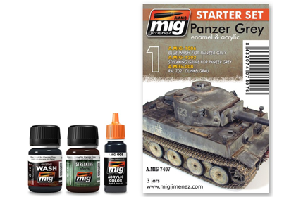 Panzer Grey, starter set