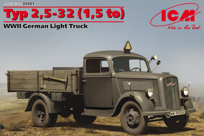 German Light Truck, Opel Blitz 2,5 32