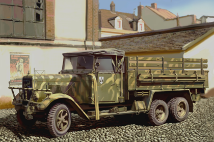 ICM 1//35 35405 WWII German Army Truck Type LG3000