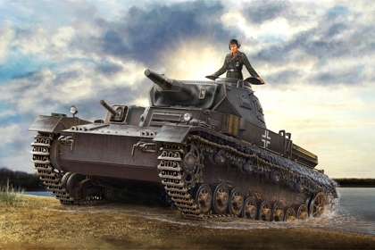 German Pz.Kpfw.IV Ausf. D/Tauch