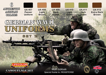 German WWII Uniforms set 2