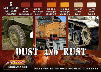 Dust & Rust diorama set 1