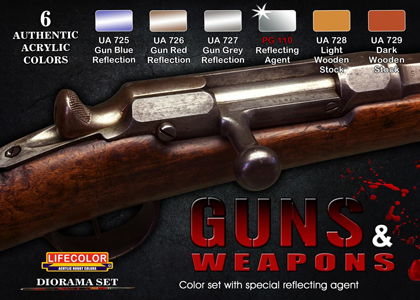 Guns & Weapons set