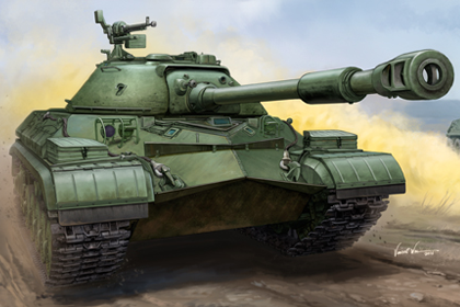 Russian T-10A Heavy Tank