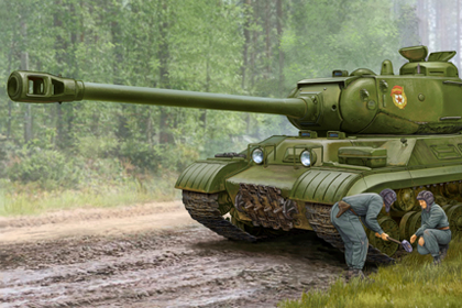 Russian JS-2M Heavy Tank (Early production)