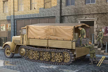 German Sd.Kfz.7 KM m 11 Mittlere Zugkraftwagen 8t - Late version