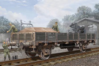 German Railway Gondola - Lower sides