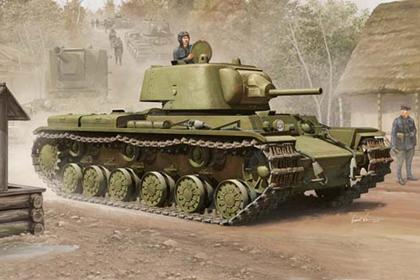 Russian Heavy Tank, KV-1 model 1939