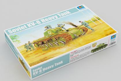 Russian Heavy Tank, KV-8