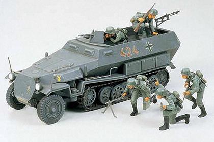 German Hanomag Sd.kfz 251/1