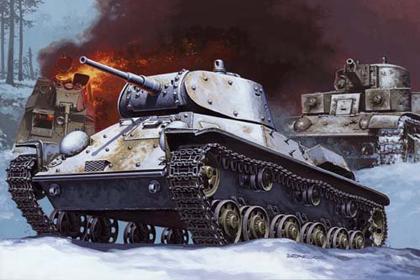 Russian Light Tank, T-50AA