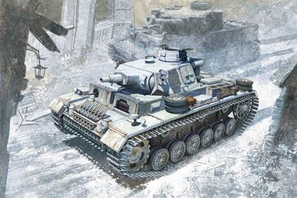 German Panzerkampfwagen III, Ausf. N, w/winterketten