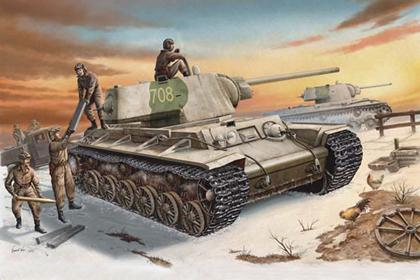 Russian Heavy Tank, KV-1 model 1942