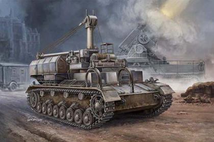 German Pz.Kpfw.IV Ausf. D/E Fahrgestell