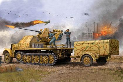 German 3.7cm FlaK 37 auf Selbstfahrlafette - Late version