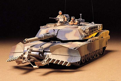 US M1A1 Abrams w/ Mine Plow