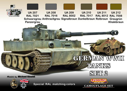 German Tanks set 2