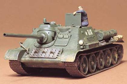 Russian Tank Destroyer, SU-85