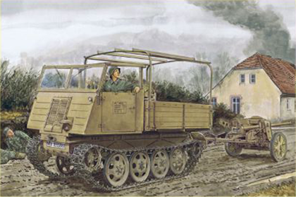 German RSO/03 w/5cm PaK 38