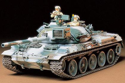 JGSDF Type 74 Tank, Winter version
