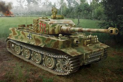 German Panzerkampfwagen VI, Tiger I - Hybrid
